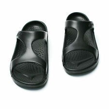 Mens Light weight Slipper Sandal Beach Shoes Flip Flop Black UK 6 7 8 9