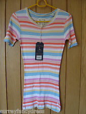 Jack Wills Campbell Crew Ladies Striped Top Size 6 8 NEW (tags) RRP £24.50