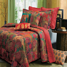 Greenland Home Jewel Quilt & Sham Set, Twin, Full/Queen Or King