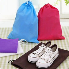 Comfortable Non-woven Shoes Bag Travel Storage Pouch Drawstring Dustproof YY