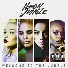 Welcome to the Jungle - Neon Jungle New & Sealed CD-JEWEL CASE Free Shipping