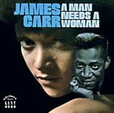 Man Needs a Woman - Carr,James New & Sealed LP Free Shipping
