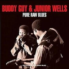 Pure Raw Blues - Guy,Buddy & Junior Wells New & Sealed LP Free Shipping