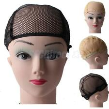 Nylon Elastic W. Ear Wings Elastic Mesh Hair Nets weaving Wig Cap for Wig Making