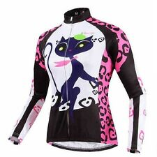 Women's Bike Clothing Long Sleeve Cycling Jacket Racing Biking Jerseys S-XXXL
