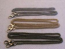 """47"""" Chain Handle; Perfect For Miche Petite Bags; Antique Brass, Gold, or Silver"""
