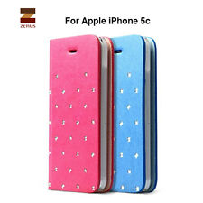 Genuine Zenus Z Brogue Diary PU Leather case flip cover for Apple iPhone 5c