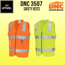 Day/Night Side Panel Safety Vest with Generic R/Tape Brand New 3507 dnc