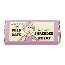 Milk Chocolate 100grm Bar with novelty wrappers 'Wild Oats'