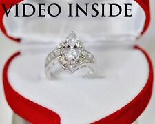 Marquise Cut Engagement & Wedding Engagement Rings Diamond Ring 22KT SJWI*