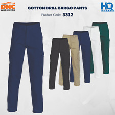 Cotton Drill Cargo Pants Brand New Clothes Work Wear 3312 dnc