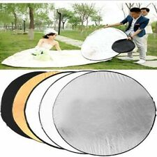 5-in-1 Light Mulit Collapsible disc for photography Panel Reflector diffuser BG+