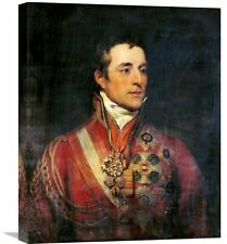 'The Duke of Wellington' by Thomas Phillips Painting Print on Wrapped Canvas