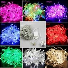 8 Multi 30M 300 LED Fairy String Lights Party Christmas Xmas Wedding Tree Garden