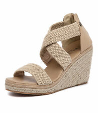 New Walnut Melbourne Dusty Wedge Sand Women Shoes Casuals Sandals Wedges