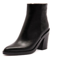 New Tony Bianco Eclipse Black Lizard Women Shoes Casuals Boots Ankle Boots
