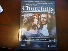 THE FIRST CHURCHILLS 2013 DVD WITH SUSAN HAMPSHIRE & JOHN NEVILLE