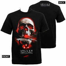 Authentic SULLEN CLOTHING Robertson Tattoo Skull T-Shirt M-5XL NEW
