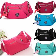 New Women Handbag Shoulder Waterproof Tote Purse Nylon Crossbody Messenger Bag