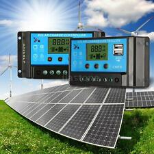 Anself 10A/20A LCD Intelligent Solar Charge Controller 12.6V PWM Mode 2USB S5P2