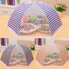 Collapsible Mesh Food Cover Umbrella Pop Up Fly Wasp Insect Net BBQ Kitchen Tool