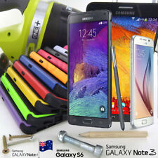 Samsung Galaxy Note 3 4 S3 S4 S5 S6 Heavy Duty Tradesman Case Cover Shock Wave
