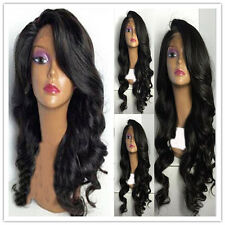 Brazilian Silky Body Wave 100% Human Hair Lace Full/Front Lace Human Hair Wigs