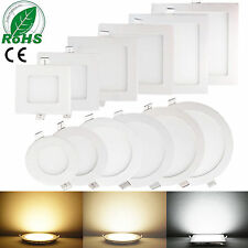 Dimmable LED Recessed Ceiling Panel Down Light Bulbs 6W 9W 12W 15W 18W 21W Lamp