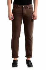 Brunello Cucinelli Men's Brown Slim Fit Jeans Size 30 32 34 36 38 40 42