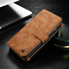 CaseMe Multifunction Leather Zipper Wallet Phone Case For iPhone 6 6S S6 S7 Edge