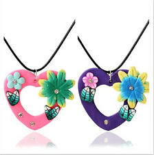 Fimo Handmade Pendant Bohemian Popular Flower Fashion New Toner OL