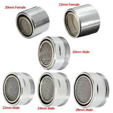 Faucet Tap Aerator Nozzle Sprayer Filter Water Saving Male/Female Chrome 20-28mm