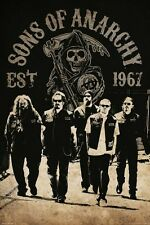 Sons of Anarchy Reaper Crew SoA Poster 61x91.5cm