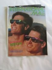 Preowned INTERNATIONAL MALE Catalog Summer 1989 Non-Stop Neon