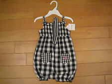 NWT Infant Girl's Calvin Klein one-piece outfit with headband  (Retail $49.00)