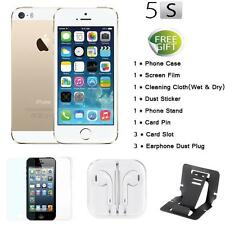 "Apple Smart Phone iPhone 5S 4G LTE 3G WCDMA Factory Unlocked 4"" 32GB/16GB W9J5"