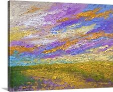 Canvas On Demand 'Mini Landscape V' by Marion Rose Painting Print on Canvas