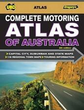 NEW Complete Motoring Atlas of Australia by UBD Gregorys Paperback Book Free Shi