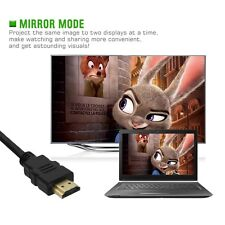Voxlink 2160P HDMI 2.0 Cable for 3D HDTV with Ethernet 24K Gold Plated 4K X 2K