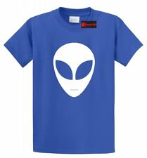 Alien Face T Shirt Believe UFO Space Nerd Gift Tee Hipster Swag Geek Shirt S-5XL