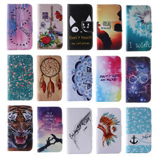 Phone Protective Case for Samsung Galaxy PU Leather Stand Wallet Flip Cover Sin