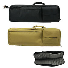 "85CM/33"" Tactical Hunting Heavy Duty Rifle Gun Carrying Case Shoulder Hand Bag"