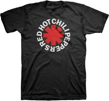 AUTHENTIC RED HOT CHILI PEPPERS ASTERISK LOGO ROCK BAND T SHIRT S M L XL 2XL