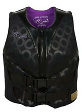 HO Sports HO Skis Life Jacket Vest Ladies Form Fit Black and Purple Many Sizes!