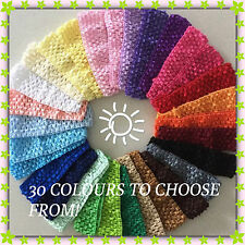 Baby Girls Toddler - adult Crochet Hair Head Band Headband buy 5 get free post.