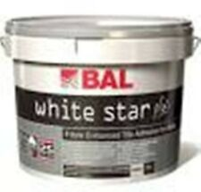 BAL White Star Water Resistant Tile Adhesive 10 litres