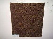 Fabric remnant for crafts paisley chenille Kravet Couture Faculty Club Paisley