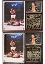 Muhammad Ali The Greatest Photo Plaque