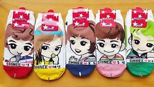SHINEE socks One Pair - option Choose (ONEW MINHO KEY JONGHYUN TAEMIN) - lucifer