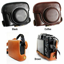 Leather Case Bag Cover Protector FOR CANON POWERSHOT G15 G16